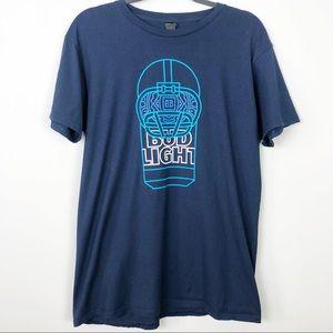 Bud Light Football Tee